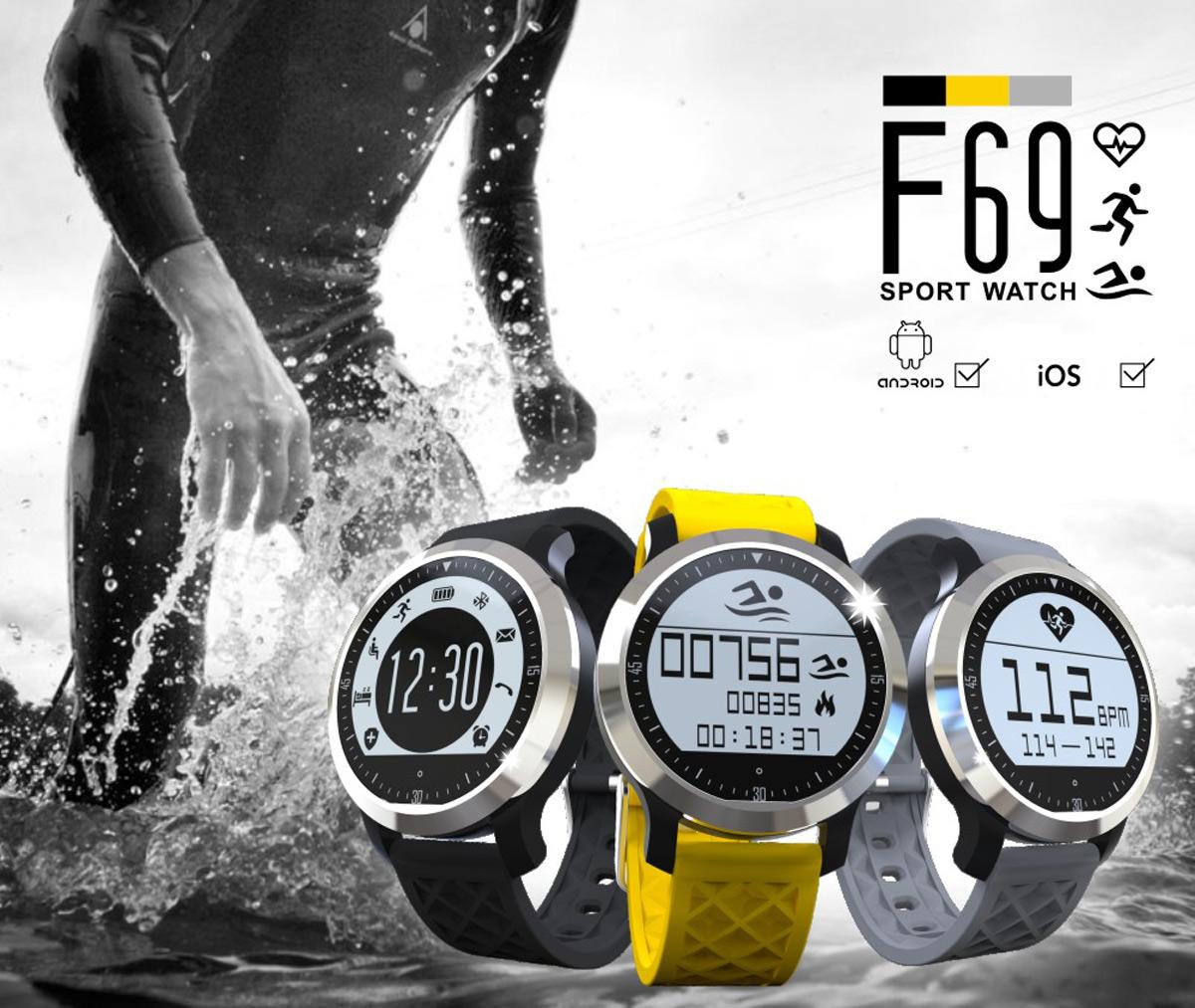 F69 Smart BT Swimming Watch on Flash Sale
