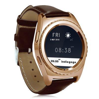 No. 1 S5 smart watch in golden color