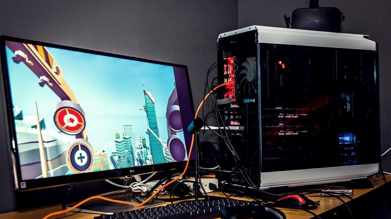 Virtual reality ready PC