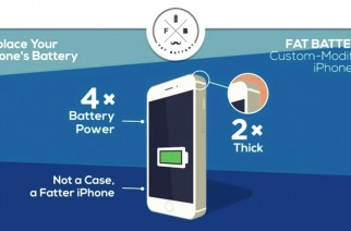 iPhone 6 Fat Battery Mod will bring 36 hours of Battery Life