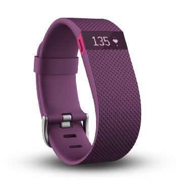 Fitbit Charge HR in Plum color