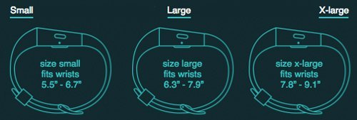 Fitness trackers sizes also matter before you purchase one for you