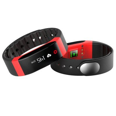 SMA-BAND Dynamic Heart Rate Monitoring Smart Wristband in RED color