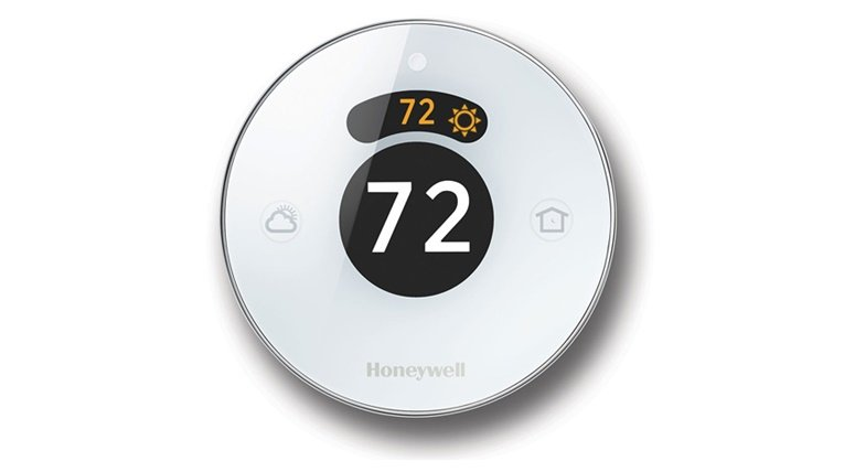 Apple HomeKit enabled accessories: Honeywell Wi-Fi Smart Touchscreen Thermostat