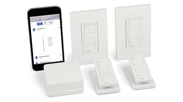 Apple HomeKit accessories: Lutron Caseta Wireless Smart Lighting In-Wall Dimmer Kit