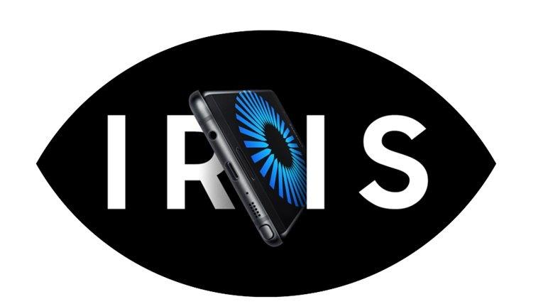 Galaxy Note 7 Iris
