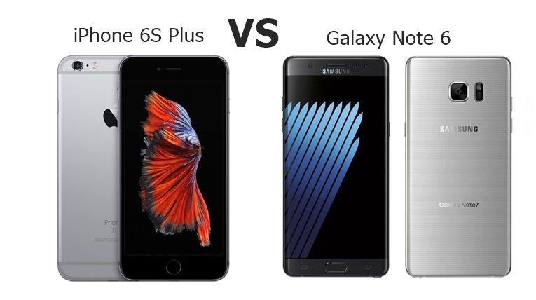iPhone 6S Plus vs Note7
