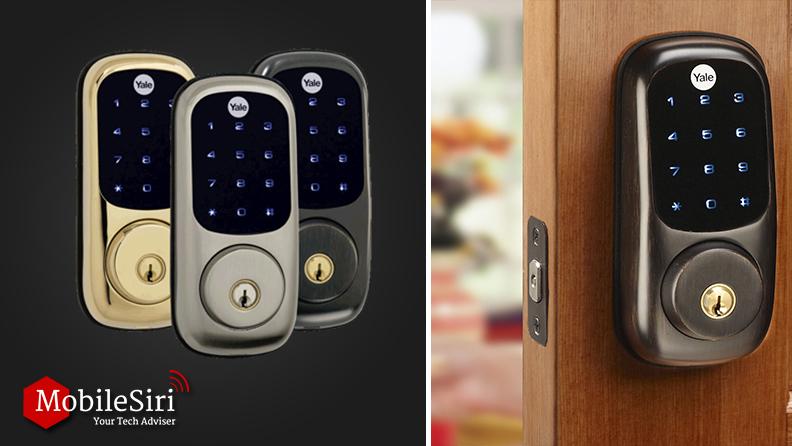 Yale Real Living Z-Wave Touchscreen Deadbolt smart lock