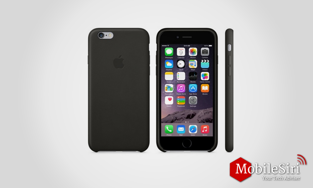 Apple's iPhone 6 and 6S Leather Case