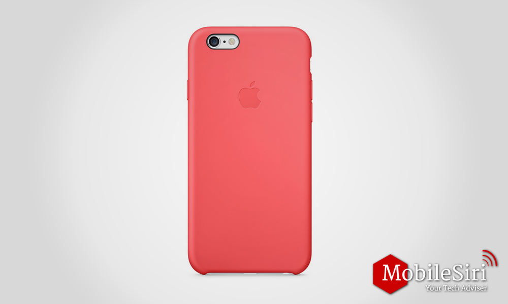 Apple's iPhone 6 and 6S Silicone Case