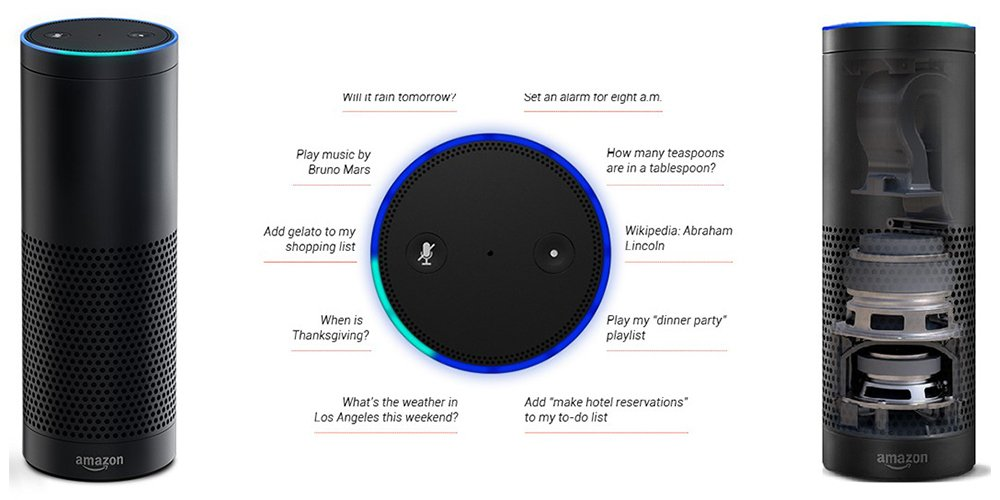 amazon echo design and features