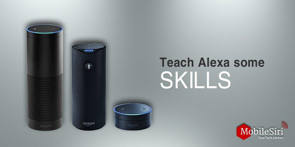 Add skills to Alexa