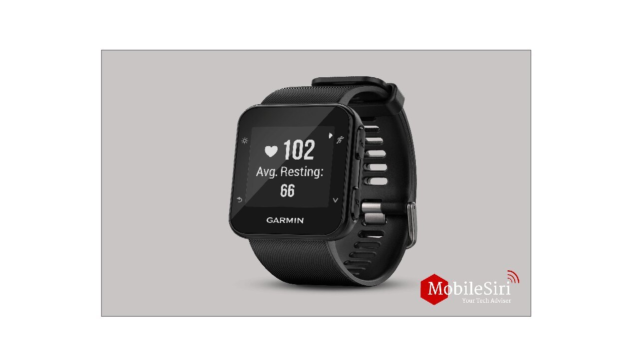 Best GPS running watches of 2020(Garmin-Forerunner-35)