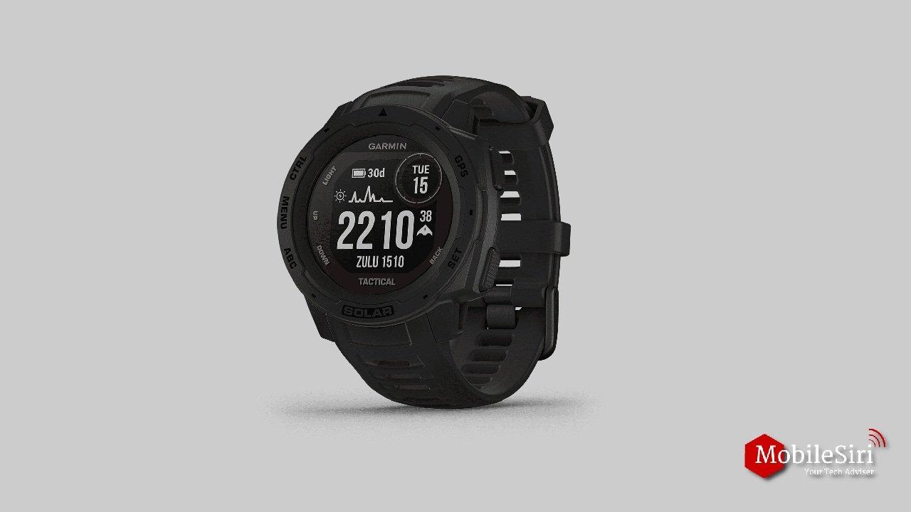 Best GPS running watches of 2020(Garmin Instinct)